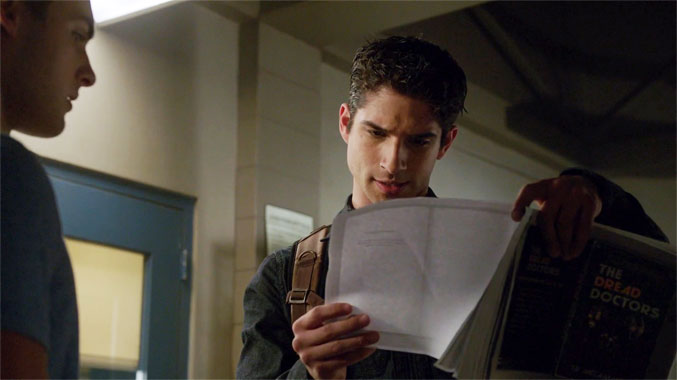 Teen Wolf S05E05: Tout un roman (2015)
