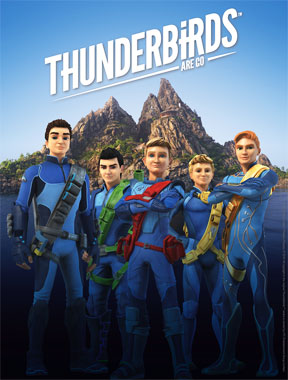 Thunderbirds Are Go (Les sentinelles de l'Air), la série animée de 2015