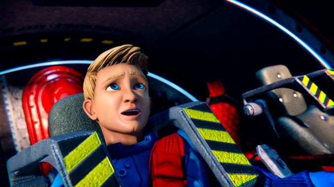 Thunderbirds Are Go S01E03: Course spatiale (2015)