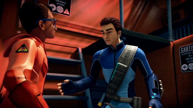 Thunderbirds Are Go S01E07: L'échappée belle (2015)