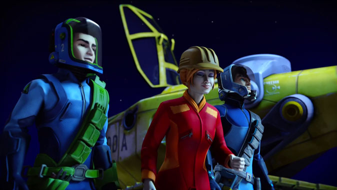 Thunderbirds Are Go S01E18: Ressource d'énergie (2015)