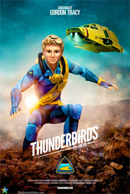 Thunderbirds Are Go! Les sentinelles de l'Air, la série de 2015: Gordon Tracy