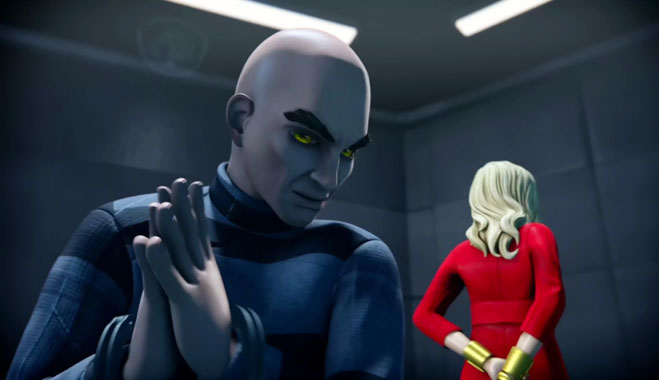 Thunderbirds Are Go! S02E01: Le fractureur (2016)