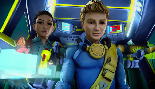 Thunderbirds Are Go S02E04: La ville sous la mer (2016)