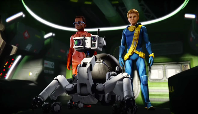 Thunderbirds Are Go S02E08: Le Royaume perdu (2016)