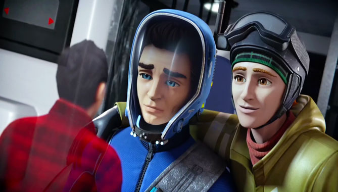 Thunderbirds Are Go S02E10: La corde raide (2016)