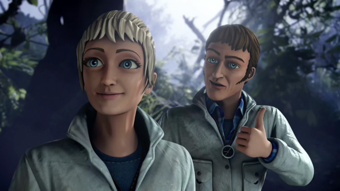 Thunderbirds Are Go S02E17: L'attaque des reptiles (2017)