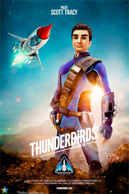 Thunderbirds Are Go! Les sentinelles de l'Air, la série de 2015: Scott Tracy