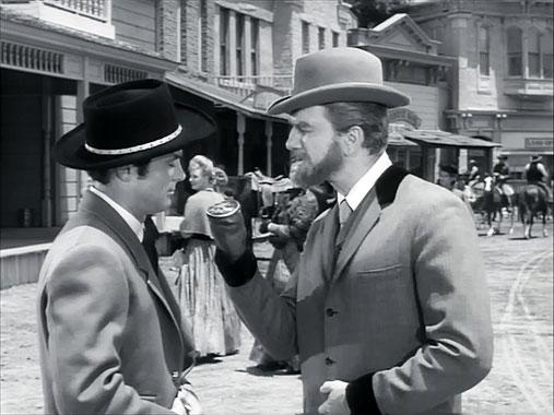Les mystères de l'Ouest S01E09: La nuit du couteau à double-tranchant (1965)