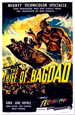 Le voleur de Bagdad, le film de 1940