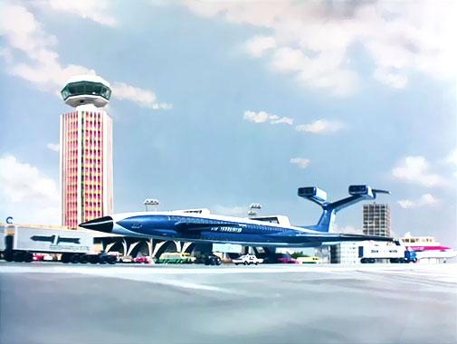 Les Sentinelles de l'Air S01E01: Pris au piège (1965)