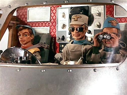 Les sentinelles de l'air S01E02: L'Éboulement (1965)
