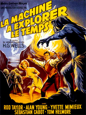 La machine à explorer le temps, le film de 1960