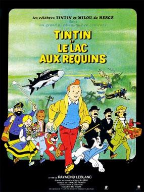 Tintin et le lac au requin, le dessin animé de 1972
