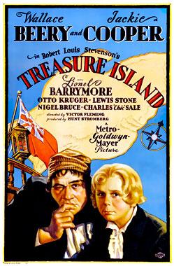 L'île au trésor, le film de 1934