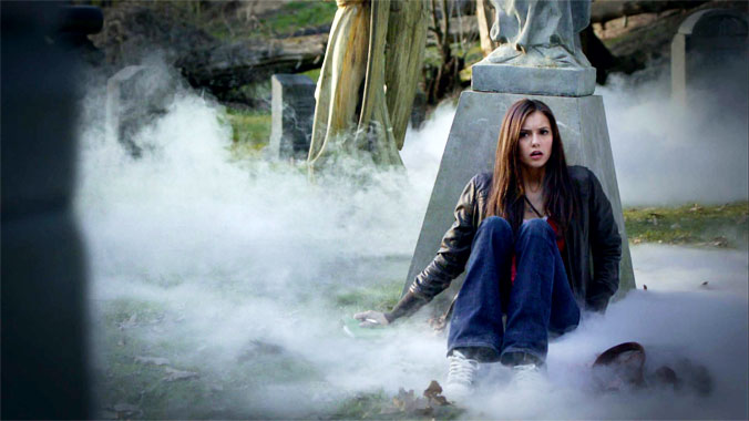 The Vampire Diairies S01E01: Mystic Falls (2009)