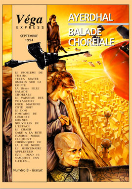 Véga Express le numéro 8 de septembre 1994