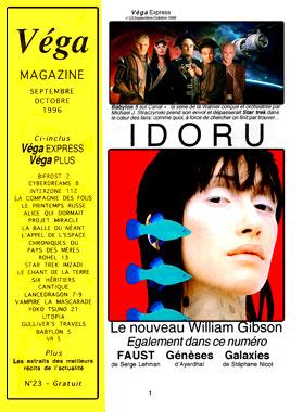 Véga express numéro 23, septembre-octobre 1996