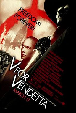 V pour Vendetta, le film de 2006