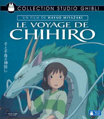 Le voyage de Chihiro (2001), le blu-ray français de 2015