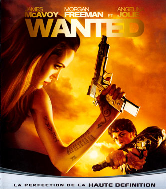 Wanted (2008), le blu-ray français de 2009