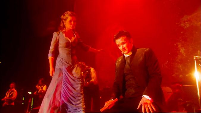 La guerre des mondes, la version musicale live de 2006
