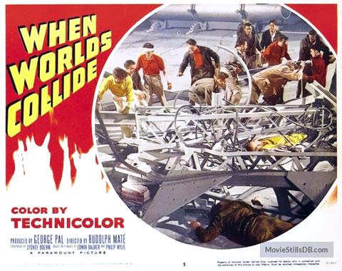 Le choc des mondes, le film de 1951