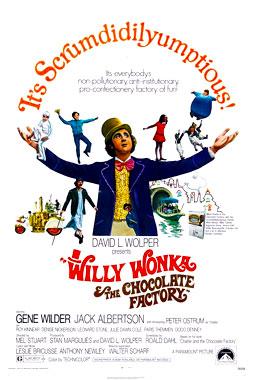 Charlie et la chocolaterie, le film de 1971