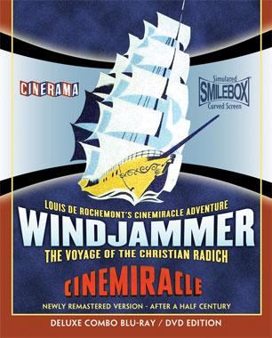 Wind-Jammer (1958) le blu-ray américain de 2012