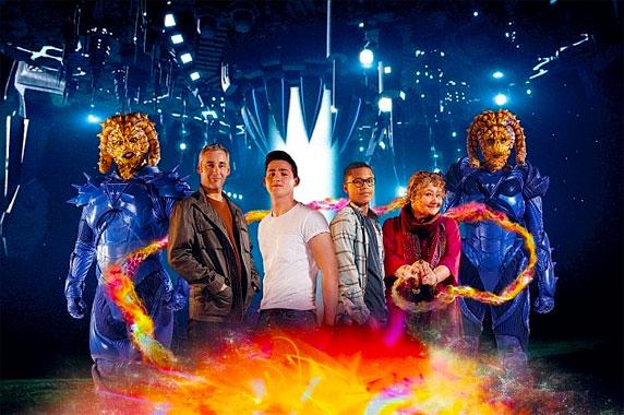 Sorciers vs Aliens, la série de 2012