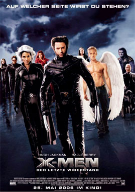 X-Men 3: L'affrontement final, le film de 2006