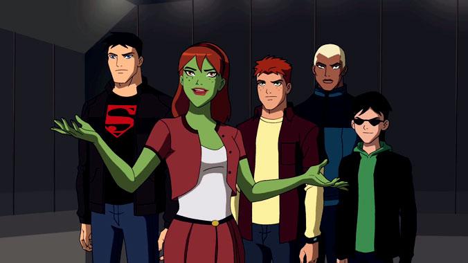 La ligue des justiciers : nouvelle génération, la série animée de 2010