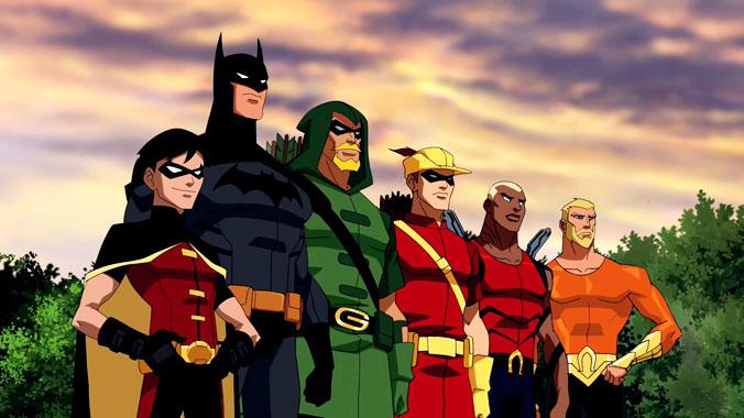 La ligue des justiciers : nouvelle génération S01E01: Le jour de l'indépendance (2010)