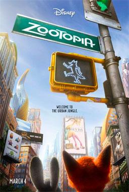 Zootopie, le film animé de 2016